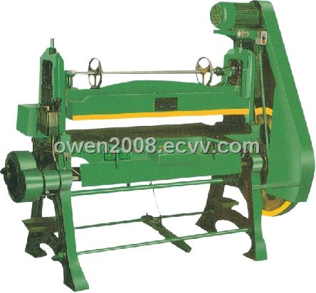 plastic blister cutting machine