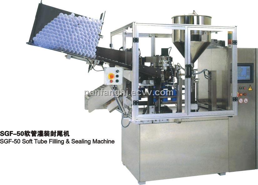 Automatic Soft Tube Filling & Sealing Machine