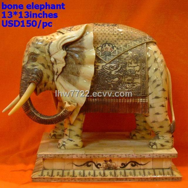 Bone Elephant Carving From China Manufacturer Manufactory Factory And Supplier On Ecvv Com