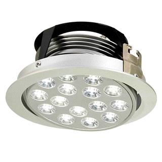 LED Downlights, 15x1 W LED, 24V DC, LED Ceiling Lights, LED