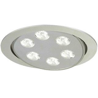 LED Downlights, 6x1 W LED, 24V DC, LED Ceiling Lights, LED