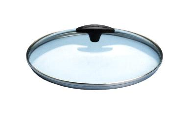 clear glass lid