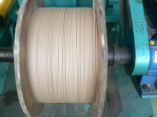Telephone Cable Wrapped Wire