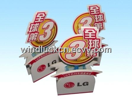 advertising swing pop stand