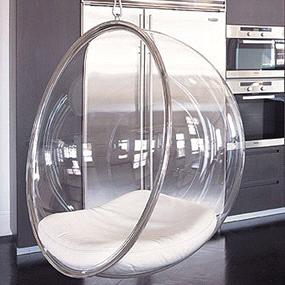 Eero Aarniou0027s Hanging Bubble Chair