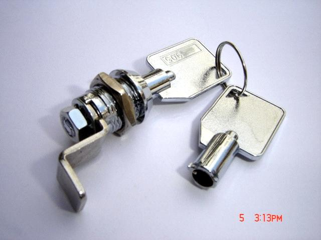 High Quality Zinc Alloy Chrome Cam Lock from China Manufacturer
