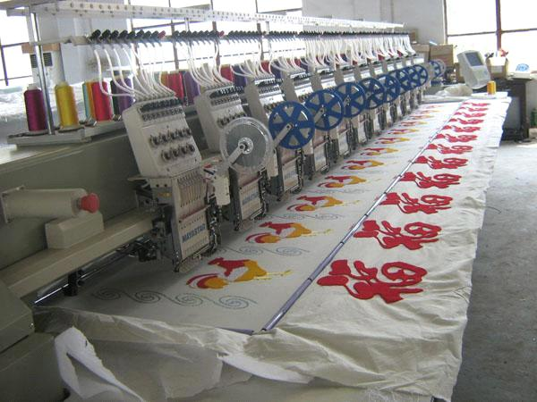 chenille embroidery machine used mayastar flat and easy chenille embroidery machine 7767