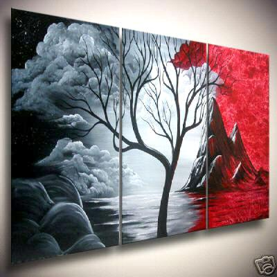 Modern Abstract Huge Canvas Art Oil Painting 318