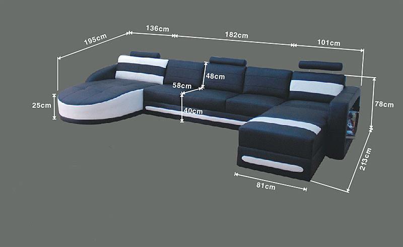 Modern Leather Sofa/sofa Set/sectional Sofa/corner Sofa/furniture
