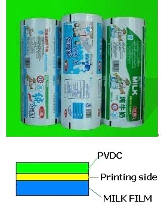 Pvdc Coated PE Milk Film from China Manufacturer
