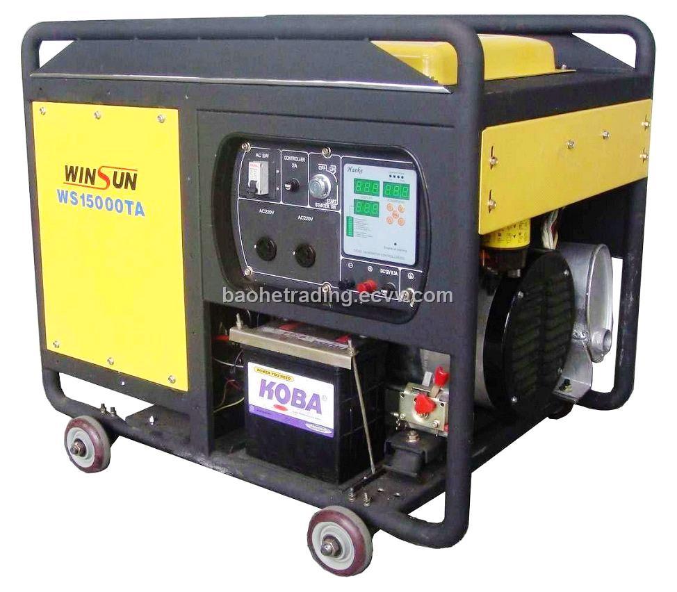 10KW Half-closed Diesel Generator Set (Single-phase) from