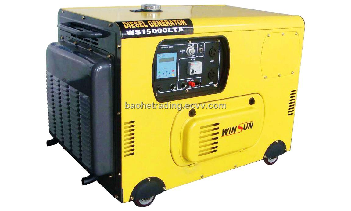 10 KW Silent Diesel Generator Set (Single-phase ) from China