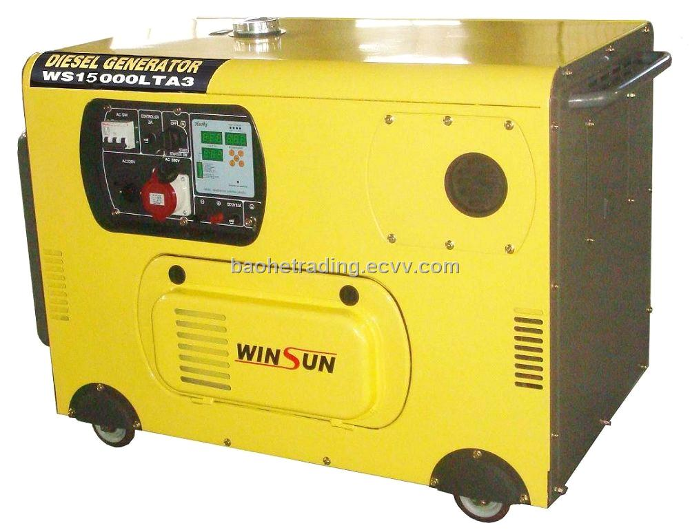 10KW Silent Diesel Generator Set (Three-phase) from China