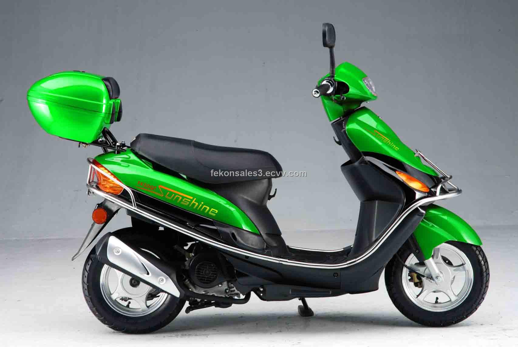 Green 50cc Scooter - Wiring Diagrams