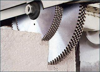 Diamond Multi Blade For Cutting Granite And Marble