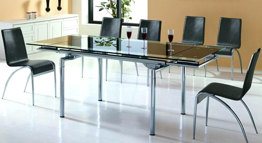 Extended Glass and Metal Dining Table purchasing, souring agent ...