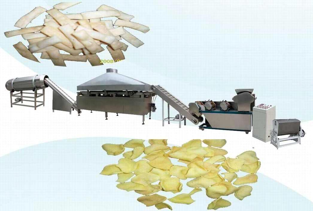 Fried Flour Snack Food Processing Line