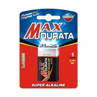 Maxdurata Super Alkaline Battery (6LR61/9V)