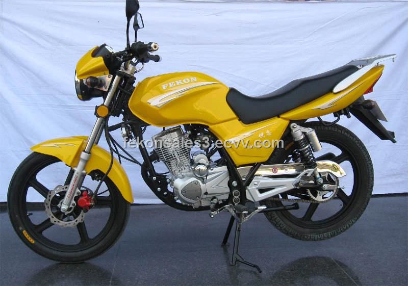 Motorcycle FK125-8 Ruizi-Yelow