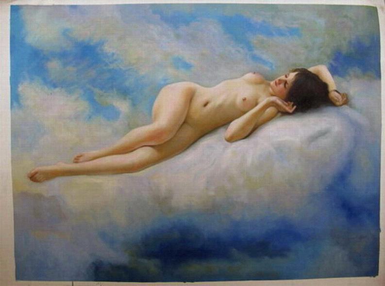 Strange sorry, nude painting chinese art