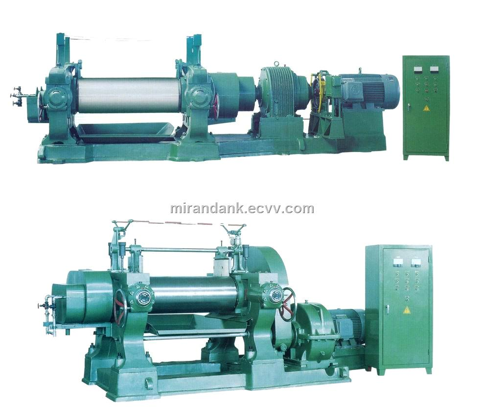Two Roll Mill Mixing Mill Open Mill Mixing Roll From China