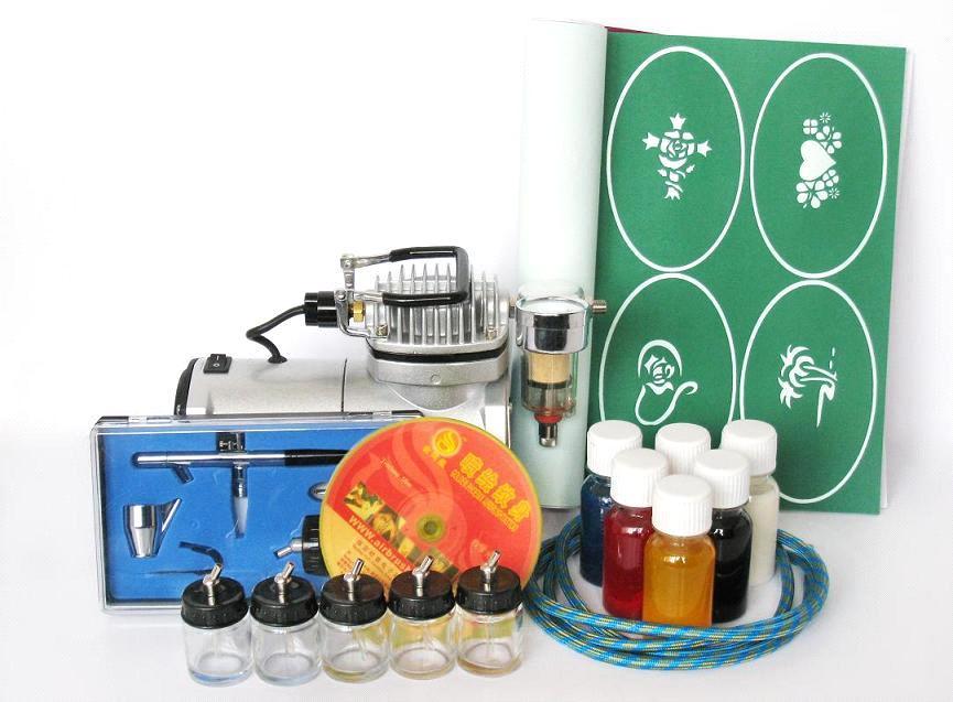 Airbrush Tattoo Kit purchasing, souring agent | ECVV.com purchasing ...
