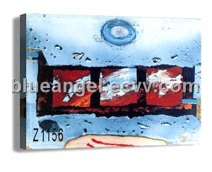 Abstract Canvas Painting (Z1156)