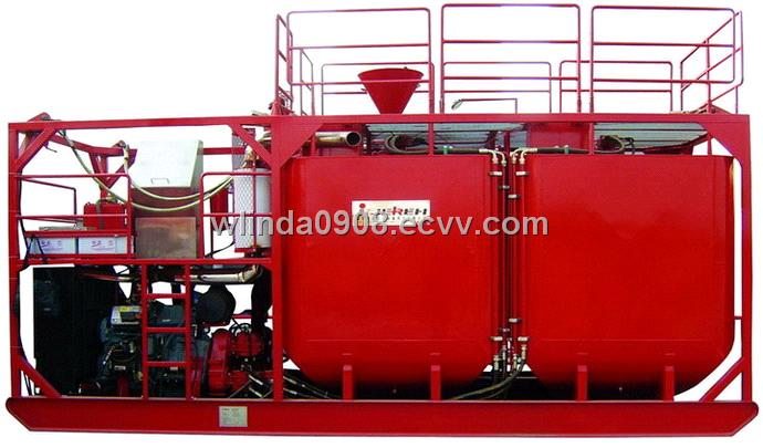 Batch Mixing Skid (PHQ210) from China Manufacturer