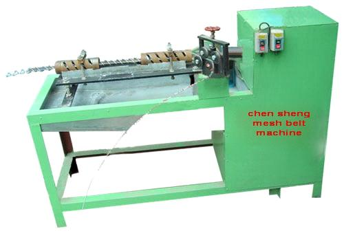 Conveyer Belt Mesh Machine