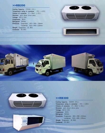 Cooling Refrigeration Units