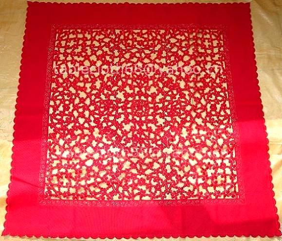 Cutwork Embroidery Table Linen