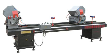 Double Head Cutting Saw for Aluminum & Plastic Profile