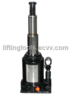 Double RAM Hydraulic Bottle Jack with Safe Valve