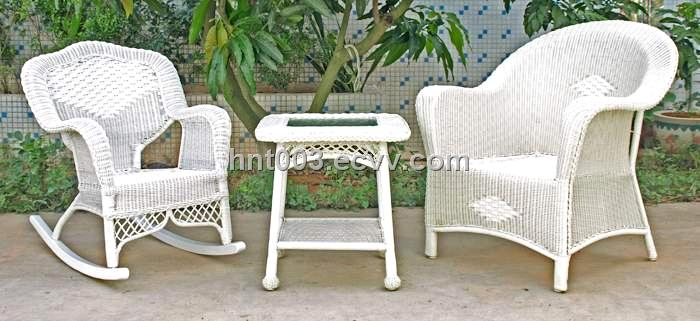 Plastic Rattan Garden Furniture Hnt 4302
