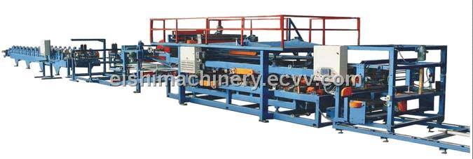 EPS/XPS/Rock Wool Sandwich Panel Machine (ESFH-3) from China