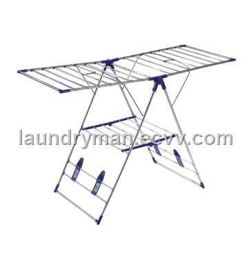 compact heavy foldable can outdoor drying duty rack clothes gullwing portable laundry folding for and do honey indoor