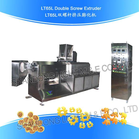Food Extrusion Machine Doublescrew Extruder (LT65L)