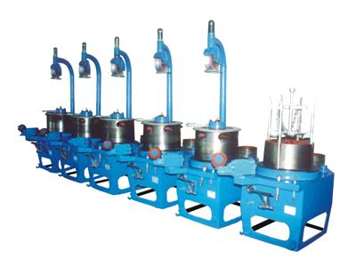 Ulley Type Continuous Wire Drawing Machine