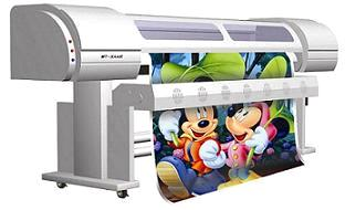 Xaar Solvent Printer