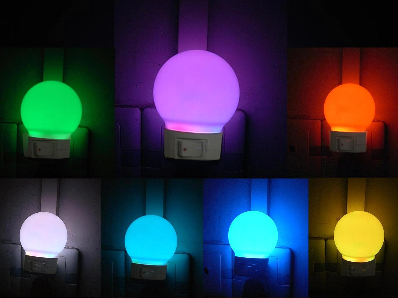 7 Color Controllable LED Bulb (SD V60)
