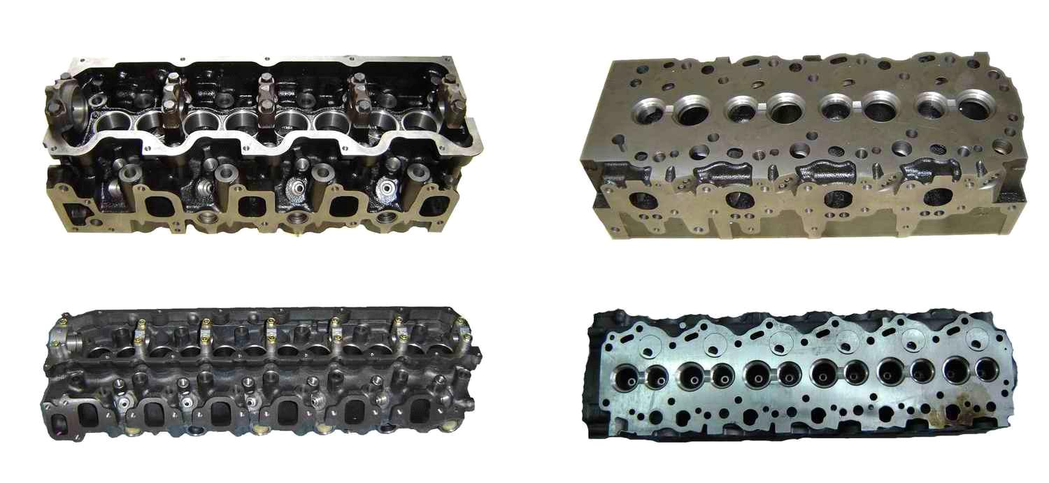 Cylinder Head for Mazda SL 3500cc Diesel Engine