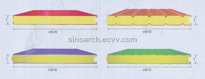 Beautiful Injection Type Sandwich Panel