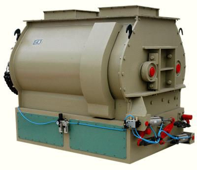SSHJ Series Dual-shaft Oar Efficient Mixer