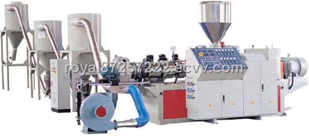 Wood and Plastic Composite Pelletizing Production Line