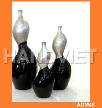 Lacquer Vase from Vietnam Manufacturer, Manufactory, Factory