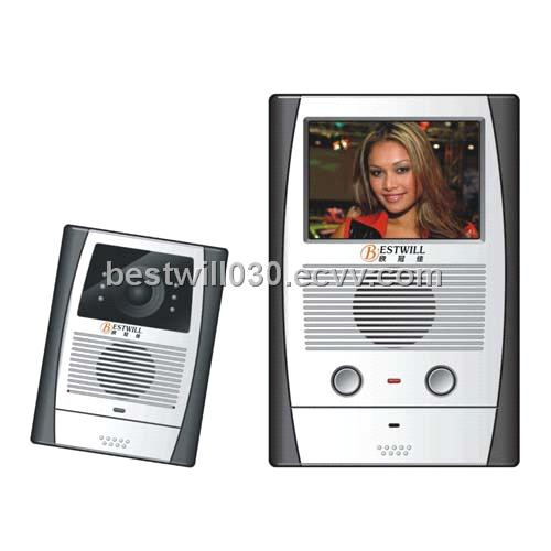 3.5 Inch Color Doorphone System