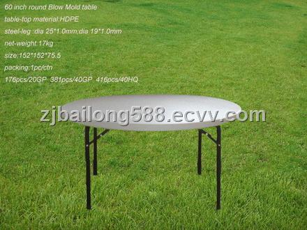 60 inch Round Blow Mold table