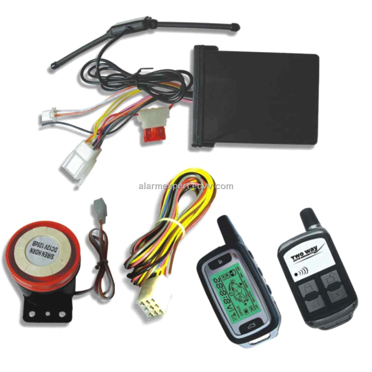 FM Two Way Motorcycle Alarm System