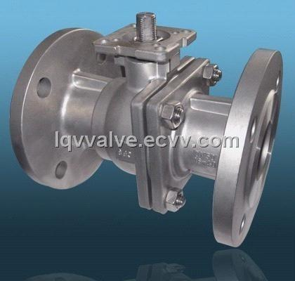 Flanged Ball Valve with Mount Pad