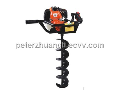 Gasoline Powered Earth Auger